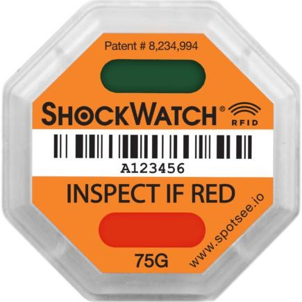 Новинка для логистики - индикатор удара ShockWatch RFID